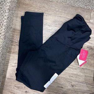 Maternity black jeans 👖🤰
